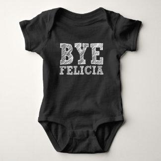 Bye Felicia Funny Saying baby Baby Bodysuit