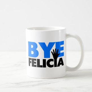 Bye Felicia Hand Wave Bold Blue Coffee Mug