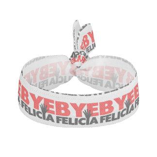 Bye Felicia Hand Wave Hair Tie