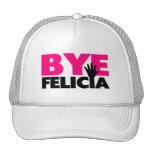 Bye Felicia Hand Wave Hot Pink Trucker Hat