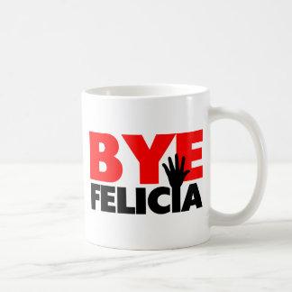 Bye Felicia Hand Wave Classic White Coffee Mug