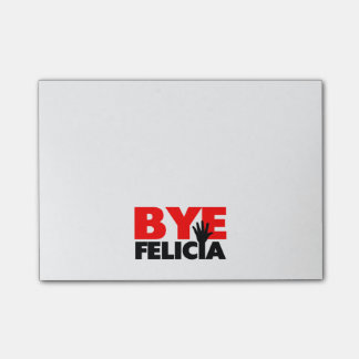 Bye Felicia Hand Wave Post-it Notes