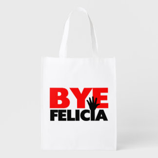 Bye Felicia Hand Wave Reusable Grocery Bag