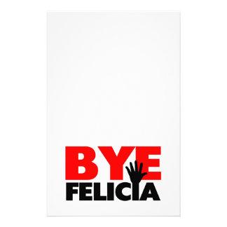 Bye Felicia Hand Wave Stationery