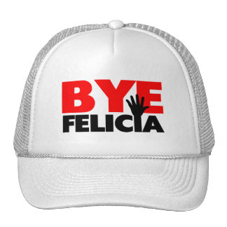 Bye Felicia Hand Wave Trucker Hat