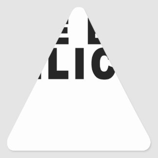 Bye Felicia T-Shirts.png Triangle Sticker