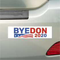 ByeDon 2020 Red and Blue Car Magnet