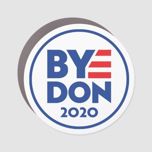 ByeDonBye Don 2020 circle magnet