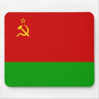 Byelorussian Ssr, Belarus flag Mousepad