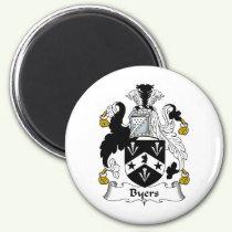 Byers Family Crest Magnet