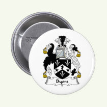 Byers Family Crest Button