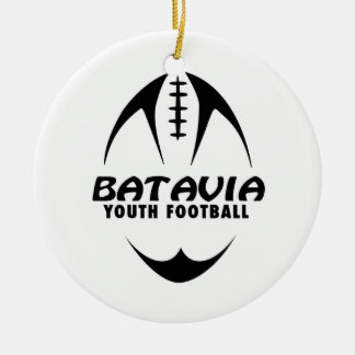 BYF Girls T-Shirt Ceramic Ornament