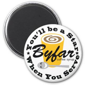 Byfar Coffee Syrup '38 Logo Fridge Magnet