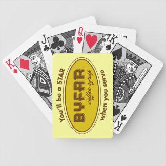 Byfar Coffee Syrup Playing Card Playing Cards