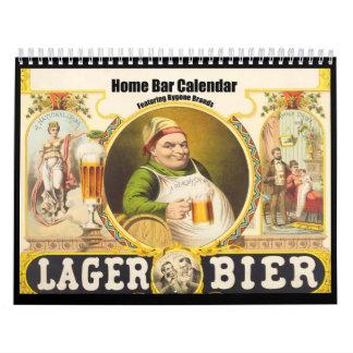 Bygone Brands Bar Calendar