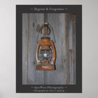 Bygone & Forgotten Print