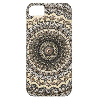 Bygone Love Mandala Kaleidoscope Pattern iPhone 5 Cover