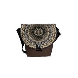 Bygone Love Mandala Kaleidoscope Pattern Courier Bag