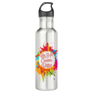 ByHisCreativeDesign Stainless Steel Water Bottle