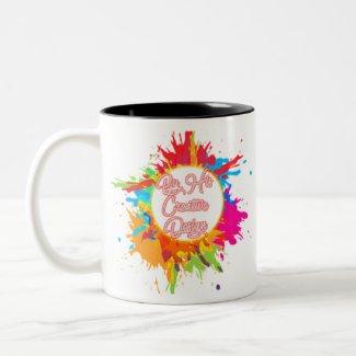 ByHisCreativeDesign Two-Tone Coffee Mug