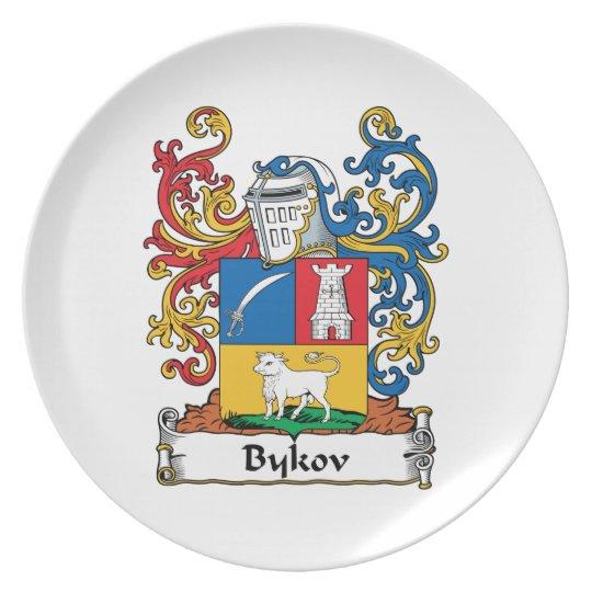 Bykov Family Crest Dinner Plate