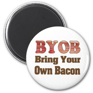 BYO Bacon Refrigerator Magnets