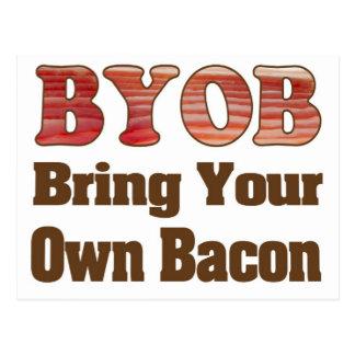 BYO Bacon Postcard