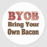 BYO Bacon Stickers
