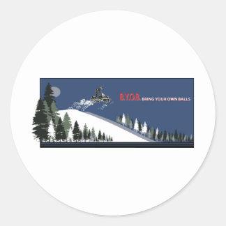 byob[Conver Classic Round Sticker