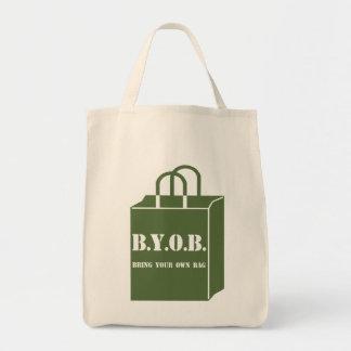 BYOB Earth Day Organic Tote Bag