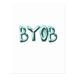 BYOB POSTCARD