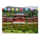 Byodo-In Buddhist Temple Hawaii Postcard