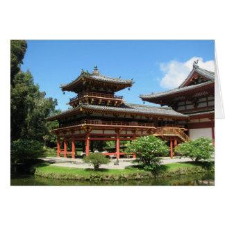 Byodo-In Temple Card