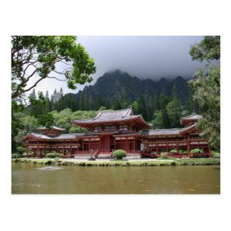 Byodo-In Temple Postcard