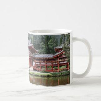 byodo temple hawaii coffee mug