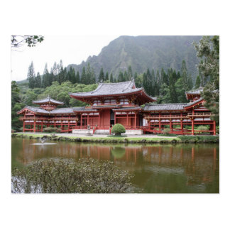 byodo temple hawaii postcards