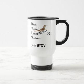 BYOV Velociraptors Mug