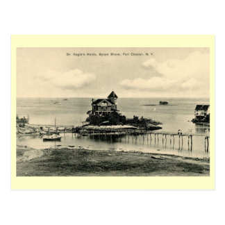 Byram Shore, Port Chester, New York Vintage Postcard