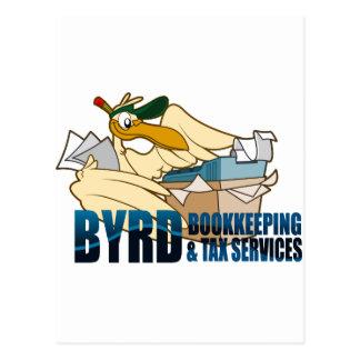 Byrd Bookeeping Postcard