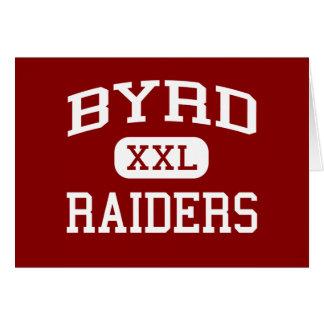 Byrd - Raiders - Middle School - Duncanville Texas Greeting Card
