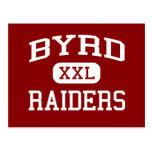 Byrd - Raiders - Middle School - Duncanville Texas Postcards