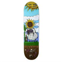 Byrd-Sheep Skateboard Deck