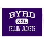Byrd - Yellow Jackets - High - Shreveport Card