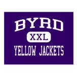 Byrd - Yellow Jackets - High - Shreveport Post Card