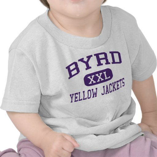 Byrd - Yellow Jackets - High - Shreveport T-shirt