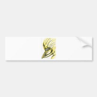 Byrdland in Yellow Bumper Sticker