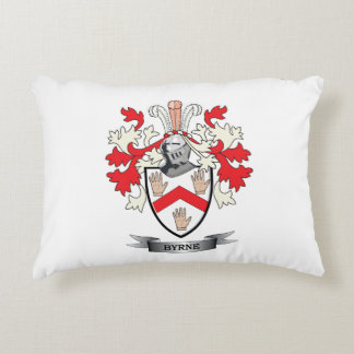 Byrne Coat of Arms Decorative Pillow