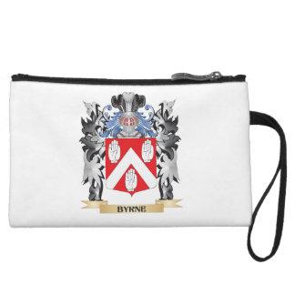 Byrne Coat of Arms - Family Crest Wristlet Wallet
