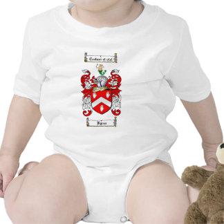 BYRNE FAMILY CREST -  BYRNE COAT OF ARMS BABY BODYSUITS