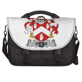 Byrne Family Crest Bags For Laptop